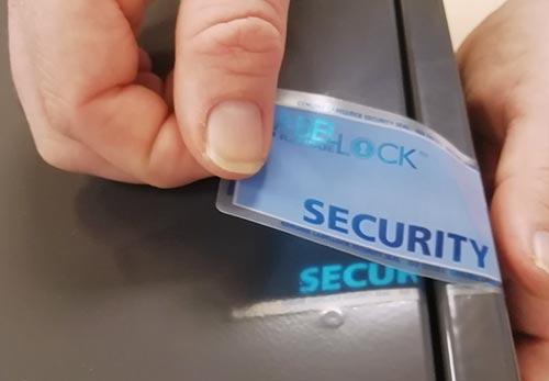 label-lock-security